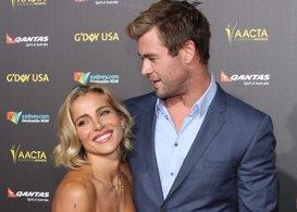 Elsa Pataky y Chris Hemsworth, deslumbrantes en los premios AACTA