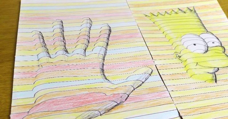 Tutorial c mo hacer dibujos en 3d usando la ilusi n ptica - Programa para dibujar planos facil ...
