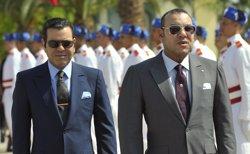 El rey de Marruecos, Mohammed VI, y su hermano, mulay Rachid