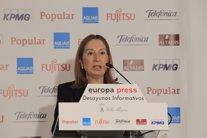 Ana Pastor en los Desayunos de Europa Press