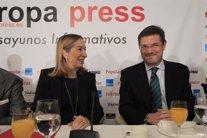 Ana Pastor y Rafael Catalá en los Desayunos de Europa Press