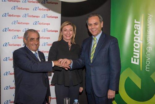 Europcar y air europa cierran un acuerdo de colaboraci n for Oficinas air europa madrid