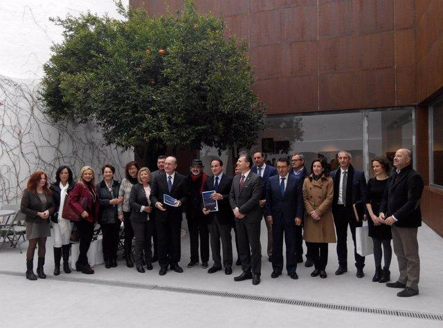 Reunión foro de turismo febrero 2015 en museo jorge rando málaga plan director