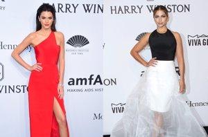 Foto: Kendall Jenner o Camila Alves, elegancia y color en la gala amfAR (CORDON PRESS)