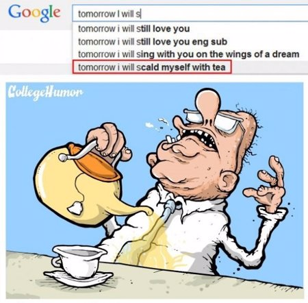 Las búsquedas más graciosas de Google Suggest