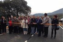 Inauguración carretera de Azabal (Cáceres)