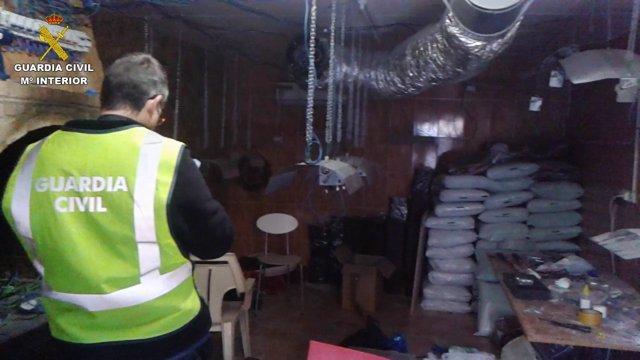 Foto: La Guardia Civil desmantela un grupo dedicado al tráfico de armas, drogas y falsificación de moneda