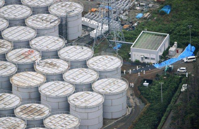 Foto: Detectada una nueva filtración de agua altamente contaminada en la planta nuclear de Fukushima