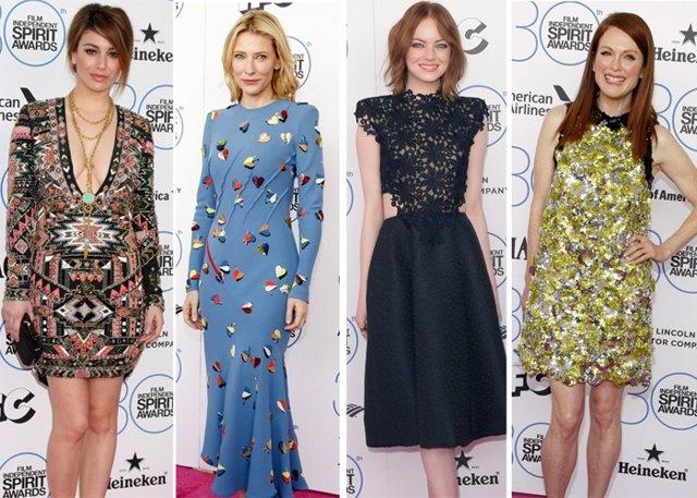 Foto: Los looks de los 'Spirit Awards', la antesala de los Oscars