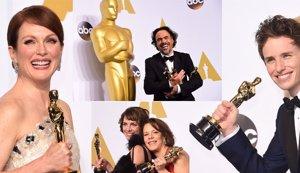 Foto: Los Oscar 2015 premian enfermedades: Alzheimer, ELA, suicidio, egolatría (CORDON-GETTY)