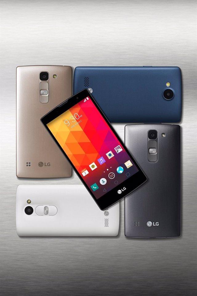 Foto: LG incorpora los Magna, Spirit, Leon y Joy a su nueva gama media