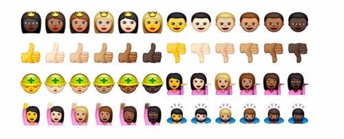 Emojis raciales