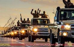 Foto: Moren 132 milicians d'Estat Islàmic als combats iniciats dissabte amb les YPG a Al Hasakah (ESTADO ISLÁMICO)