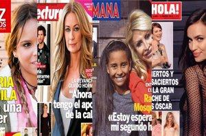 Foto: Raquel Mosquera embarazada, la revancha de Olvido Hormigos, los dulces 19 de Gloria Camila y los Oscar 2015 (HOLA, SEMANA, LECTURAS Y DIEZ MINUTOS)