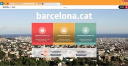 Foto: L'Ajuntament de Barcelona renova la seva pàgina web i estrena el domini barcelona.cat (EUROPA PRESS)