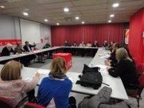 / La Agrupación Local Del PSC De Lleida Se Ha Reunido Esta Tarde