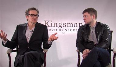 Foto: Entrevista con Colin Firth y Taron Egerton, protagonistas de Kingsman: Servicio secreto (EUROPA PRESS)