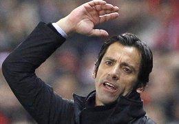 Foto: Dimite Quique Sánchez Flores, entrenador del Getafe (© JUAN MEDINA / REUTERS)