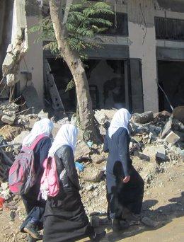 "Foto: ONG alertan de la ""falta de progreso"" en la Franja de Gaza (EUROPA PRESS)"