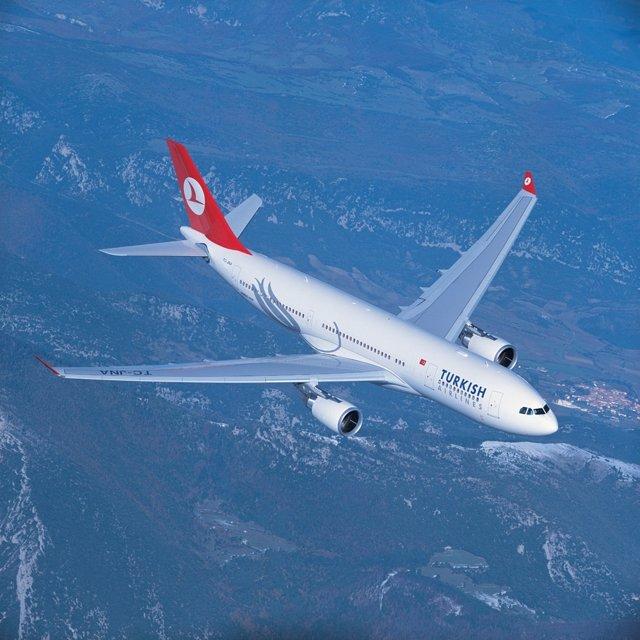 Foto: Turkish Airlines prevé alcanzar los 100.000 pasajeros este año en Valencia y estudia establecer un segundo vuelo diario