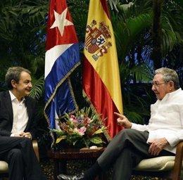 "Foto: Zapatero defiende que su visita a Cuba pretende ""sumar"" (EUROPA PRESS)"