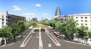 Foto: Barcelona adjudica les obres de la primera fase dels túnels de Glòries per 49 milions (AJUNTAMENT DE BARCELONA)