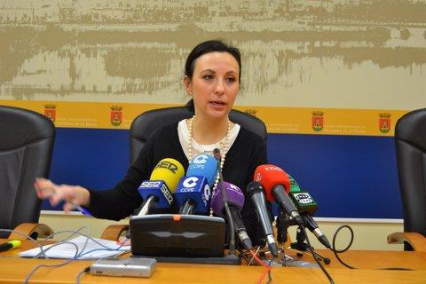 Rodríguez en rueda de prensa