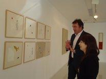 Exposición de Ana Díaz en la sala de arte El Brocense de Cáceres
