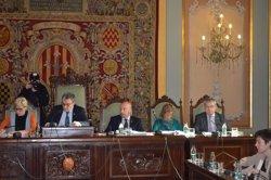 Foto: L'Ajuntament de Lleida relleva Camps sense el seu vot i l'abstenció de l'oposició (EUROPA PRESS)