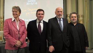 Plácido Domingo, Terry Gilliam, Juan Diego Flórez i John Malkovich, a la nova temporada del Liceu