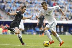 Foto: Bale torna a entrenar amb el grup i apunta al Vila-real (ANGEL RIVAS)