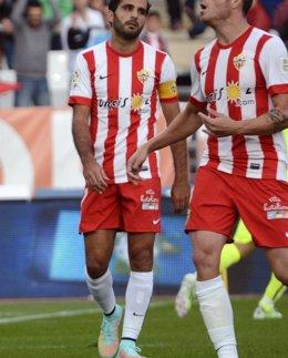 Foto: El Almería podría ser sancionado con la pérdida de tres puntos (REUTERS)