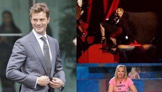 Muere Leonard Nimoy, Jamie Dornan adiós a '50 sombras' y la caída de Madonna y Belén Esteban