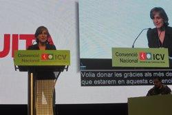Foto: La Convenció Nacional d'ICV avala amb el 82% dels vots la línia política d'Herrera i Camats (EUROPA PRESS)