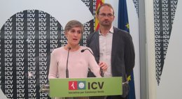 Foto: La Convención Nacional de ICV avala con el 82% de los votos la línea política de Herrera y Camats (EUROPA PRESS)