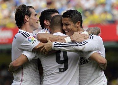 Foto: El Madrid prueba su mejoría ante el Villarreal (HEINO KALIS / REUTERS)