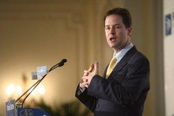 Foto: R.Unit.-Clegg no tornarà a formar coalició amb Cameron si segueix amb la seva política antieuropea (EUROPA PRESS)