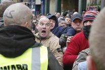 Manifestación de PEGIDA en Newcastle