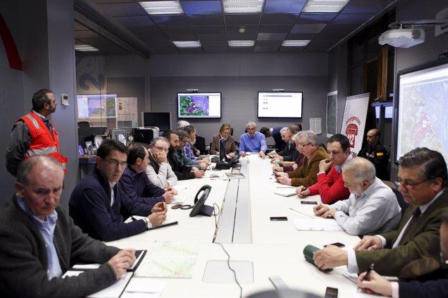 Reunión del Centro de Coordinación Operativa en Emergencias.