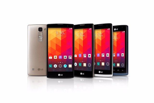 Foto: MWC 2015: LG pone los smartphones curvos al alcance de todos los bolsillos