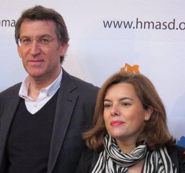 """Foto: Sáenz de Santamaría reivindica que o PP """"sabe facer boa política económica"""" (EUROPA PRESS)"""