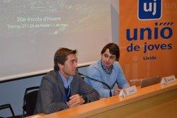 Foto: Les joventuts d'UDC avisen a ERC i a ICV que no poden donar-los