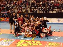 Foto: El Club Patí Vic, campeón de la Copa del Rey (RFEP)