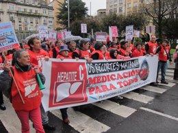 """Foto: Centenares de persoas piden """"medicación rápida"""" para a hepatite (EUROPA PRESS)"""