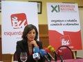 "Foto: Díaz (EU) cree que o PSOE ""forma parte do problema"" (EUROPA PRESS)"