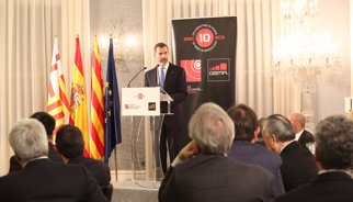 El Rei elogia Barcelona com a referent de l'emprenedoria