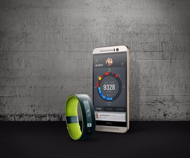 Foto: HTC presenta Grip, su 'wearable' para a monitorizar el ejercicio físico