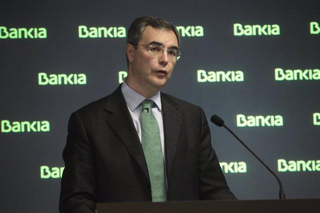 Foto: Sevilla señala que reparto de indemnizaciones de la OPS de Bankia da más valor a la acción a medio plazo