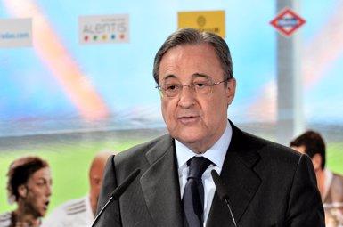 Foto: Florentino Pérez declara durant 45 minuts per un contracte del Reial Madrid amb el 'conseguidor' De Pedro (EUROPA PRESS)