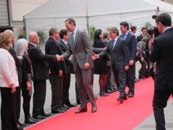 Foto: El Rei inaugura el X Mobile World Congress al costat d'Artur Mas (EUROPA PRESS)